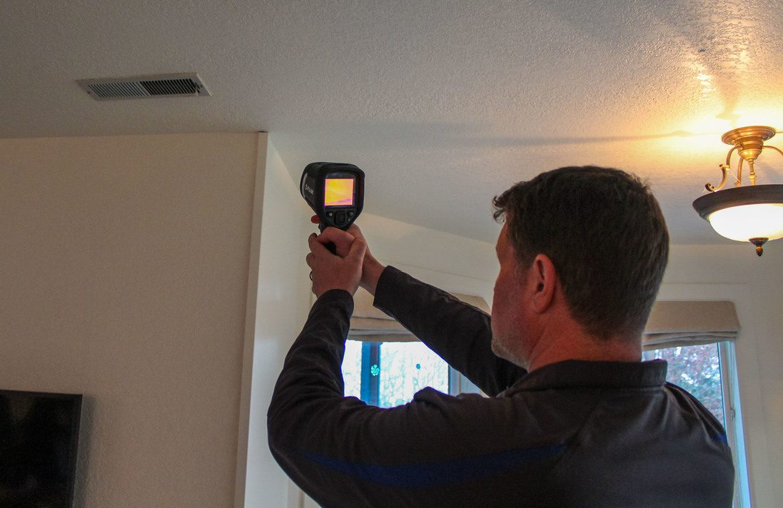 Infrared Scan Washington by Boggs Inspection Services
