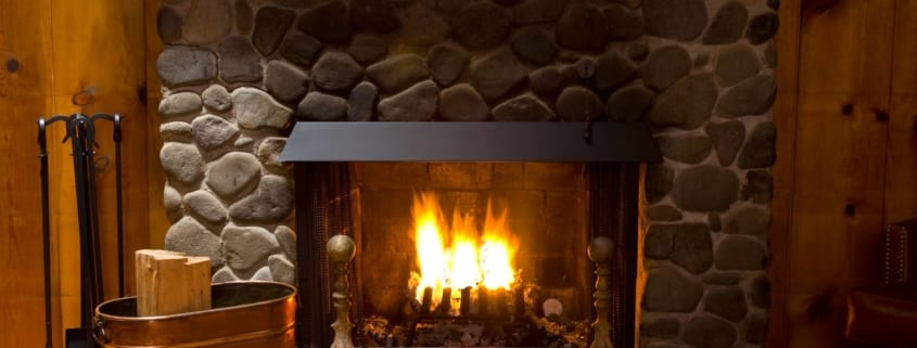 What is a fireplace lintel