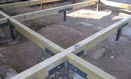 Pier and Beam foundation sample